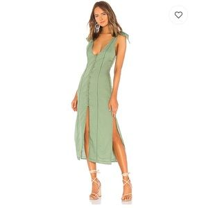 NWT Tularosa Birdie Dress in Mint Green